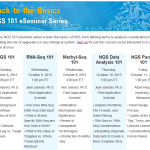 09/09/13: This is really good – Agilent's Courses About the Basics of NGS