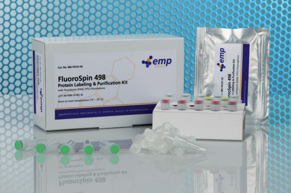 The FluoroSpin 777 Protein Labeling & Purification Kit