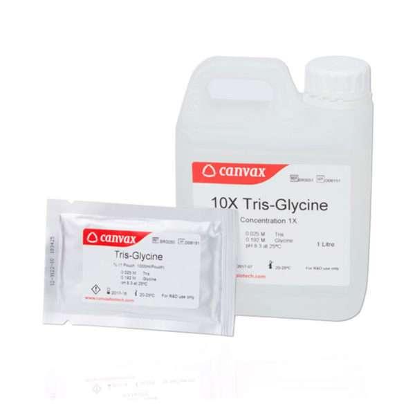 Tris-Glycine Buffer (pH 8.3), Pouch Format, 1 pouch : 1 L