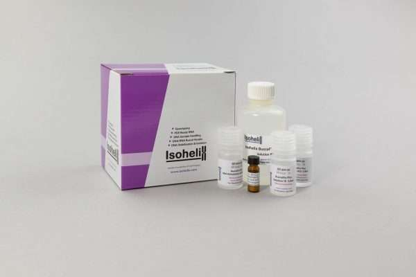NEW BuccalFix Plus DNA Isolation kit for isolating purified DNA from buccal swabs stabilised in BuccalFix tubes. For 50 reactions.