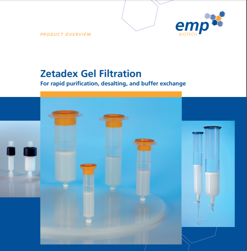 Gel Filtration Catalogue Now Available